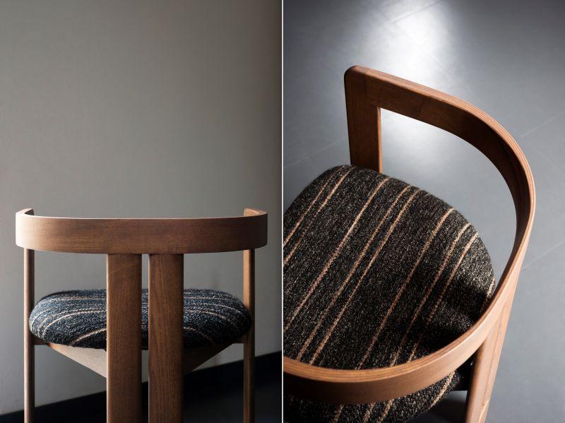 Tacchini Reissues Tobia Scarpa's Pigreco Chair