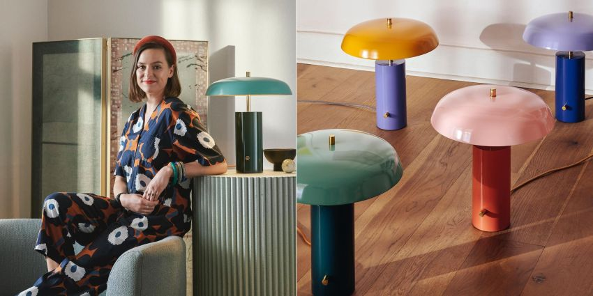 These Colorful Table Lamps from ARRANGE Studio are Revives Traditional Style