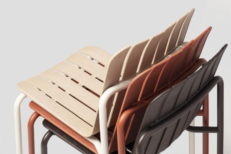 This Outdoor Furniture Collection is made from Eco-Friendly Materials