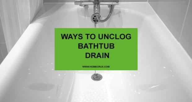 Ways-to-Unclog-Bathtub-Drain