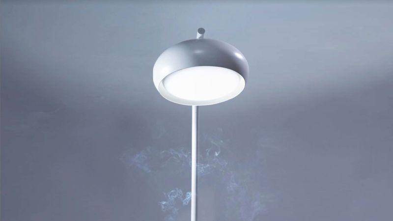 Airluna Lamp Doubles as Smart Air Purifier