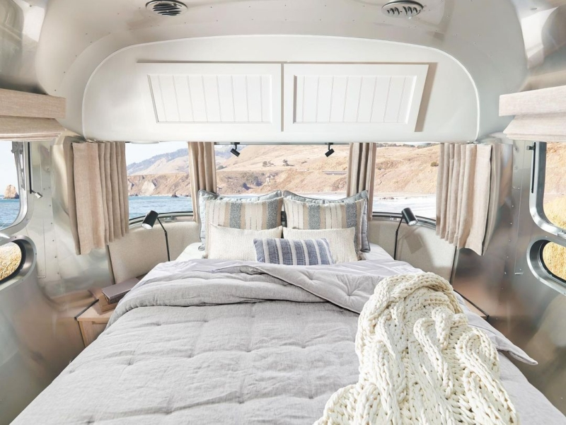 Airstream and Pottery Barn unveils Special-Edition Travel Trailer
