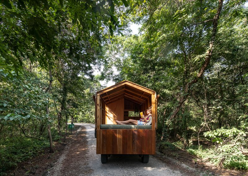 Couple Builds Unique Mobile Home to Cater their Frequent Travelling Needs