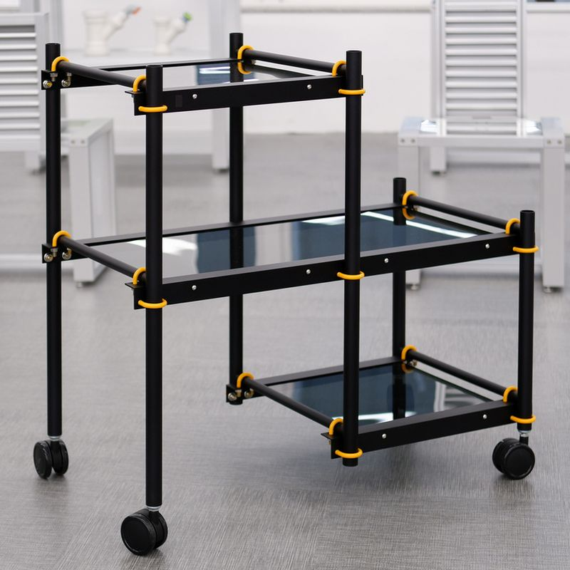 Designer Uses U-bolts to Make Modular Furniture