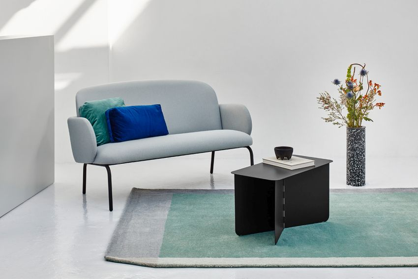 Hinge Side Table is Simple and Elegant Too