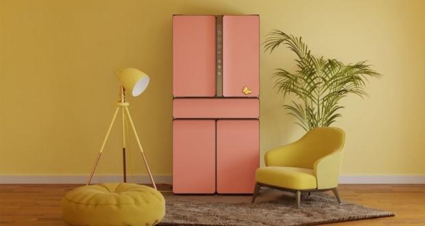 Karim Rashid Launches Kustom Refrigerator with Customizable Front Panels
