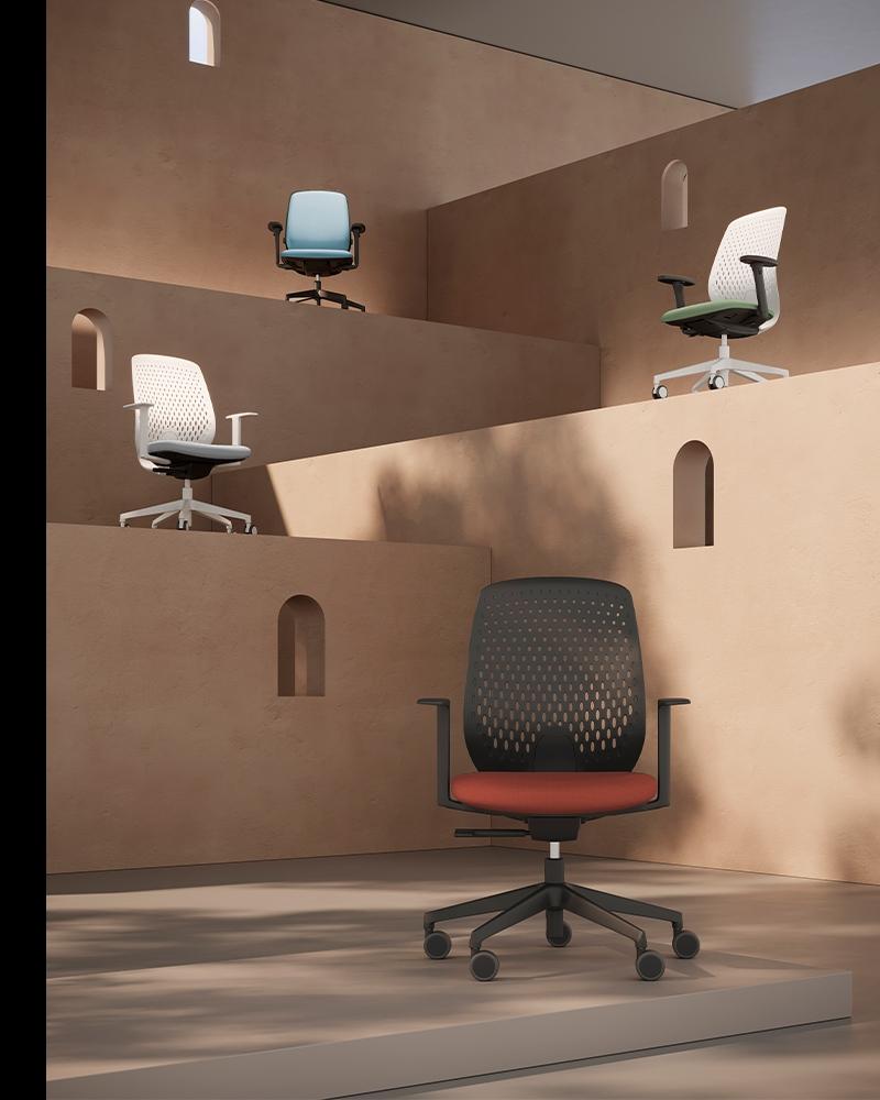 Key Smart, a new intelligent chair platform for Kastel designed by Alegre Design