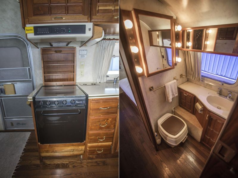 Legendry Actor Tom Hanks has Lived in This Vintage 1992 Airstream Trailer