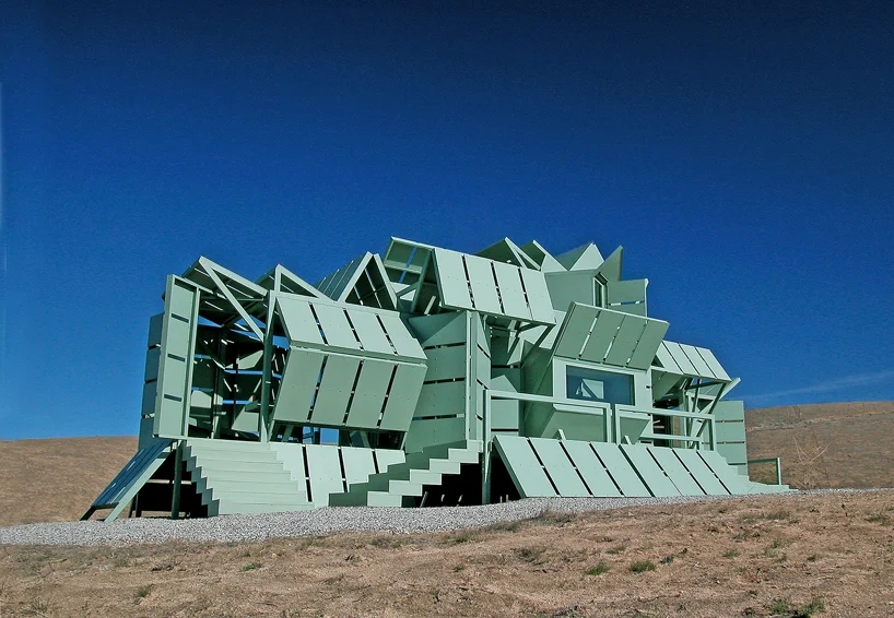 Michael Jantzen M-house is a Home for the Future