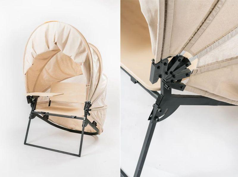 Matan Rechter Designs Shelly Portable Workstation
