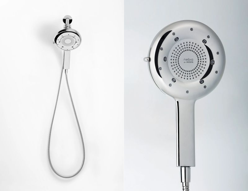 Nebia by Moen Quattro Features Four Spray Modes