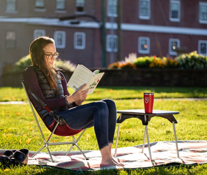 Nemo Moonlander™ Portable Dual Height Table is Tailored for the Outdoor
