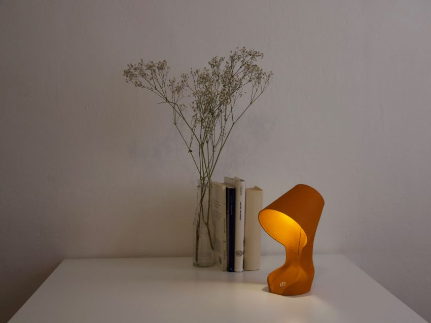 Krill Design Launches World's First Lamp Made of Recycled Orange Peels
