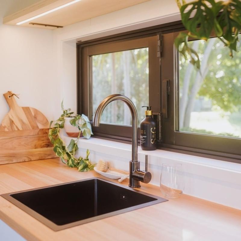 Piwakawaka Tiny house is Based on Double-Axle Trailer