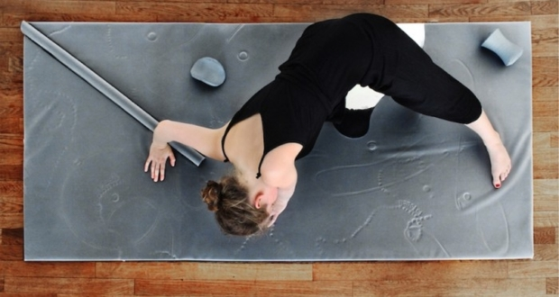 Sacha Buliard's responsive mat Forms Connection with Your Body That Once lit will never dim