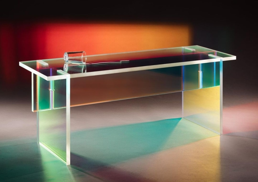 Simon Barazin Limited Edition F04 Table is more than a Bench