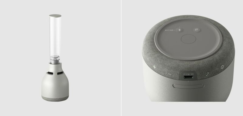 Sony Launches LSPX-S3 Glass Sound Speaker