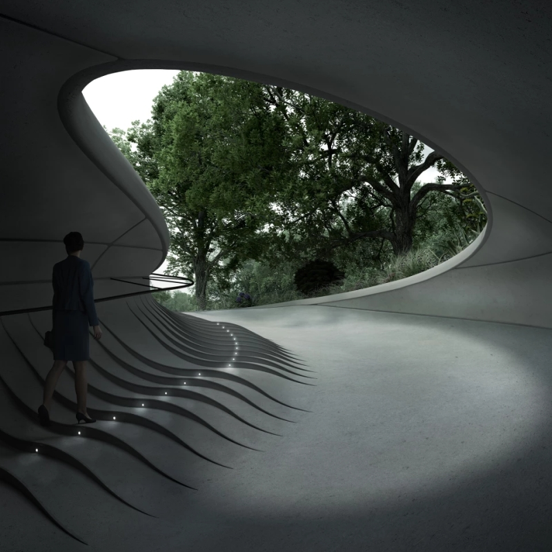 Unism and Arup join hands to design a subterranean garage in Warsaw