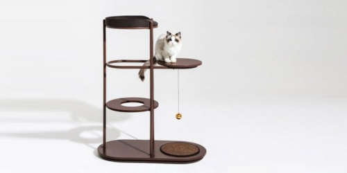 This Award-Winning Cat Climbing Tower is Customizable