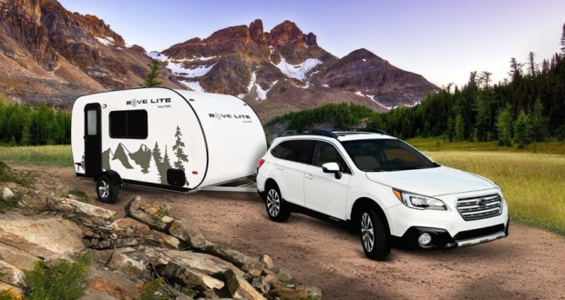 Travel Lite RV's Rove Lite Campers can be Towed by Mid-Sized Vehicle