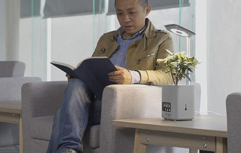 Triple L Brings Six -In-One Environment Friendly HiPlant That Not Only Purifies Your Air but Functions as a Speaker Too