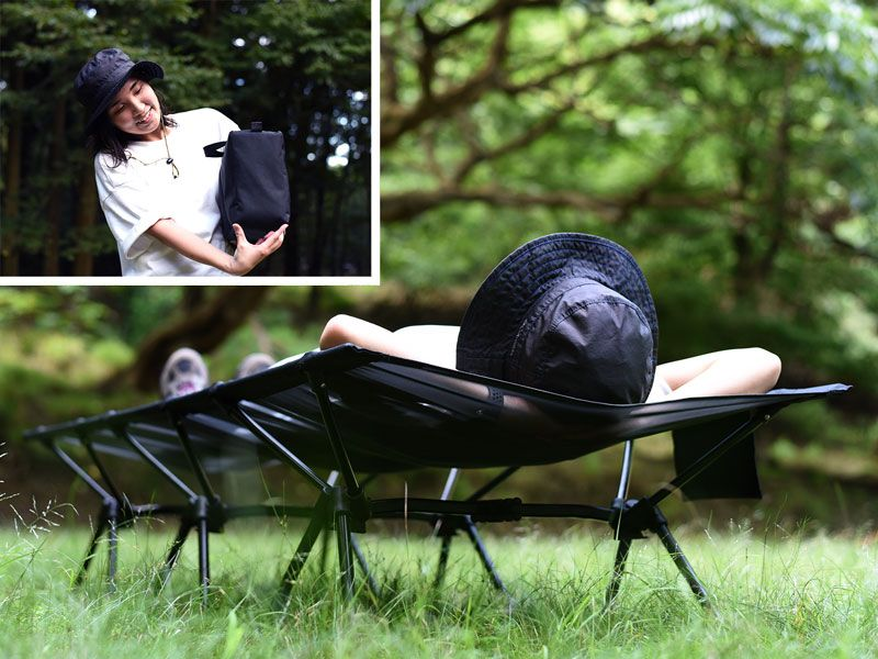 DOD Japan Launches Foldable Camping Bed