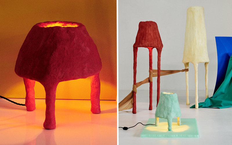 Bright Things Lamp Collection by Jordan Fleming