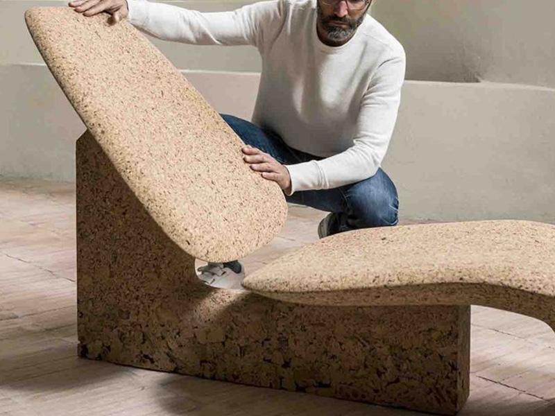 Noe Duchaufour-Lawrence Burnt Cork Furniture