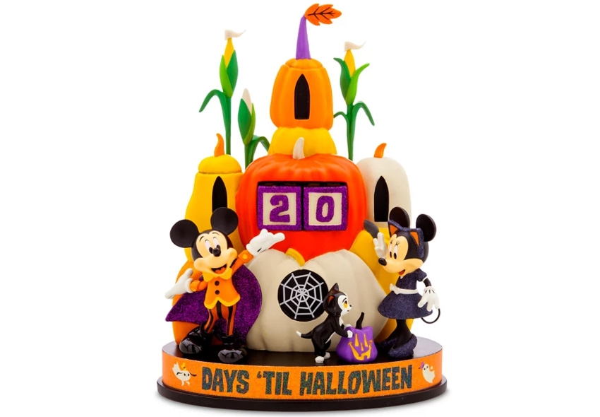 Countdown Clock Featuring Mickey and Minnie Mouse is a Halloween Delight for Kids
