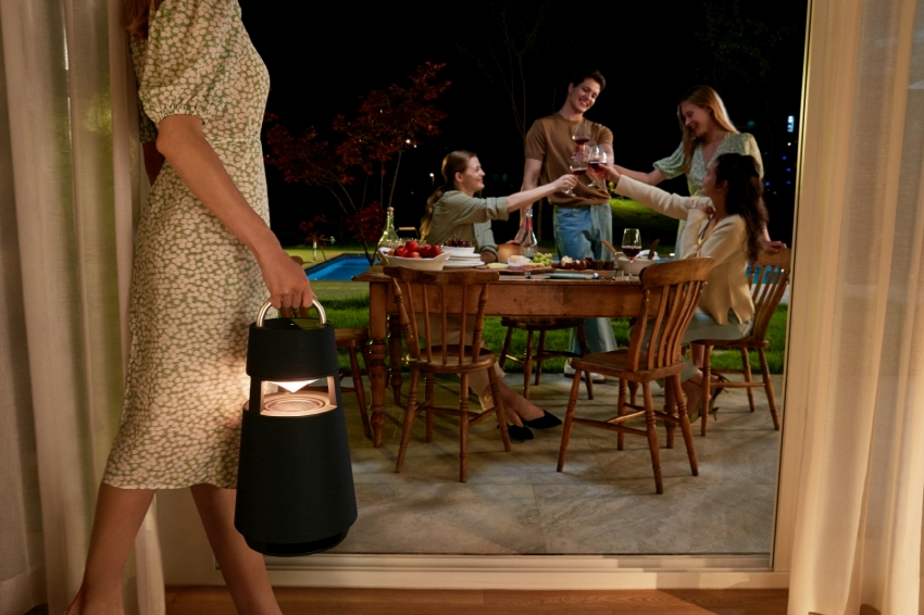 This Lantern Shaped 360 Degree Speaker by LG is Perfect for House Parties