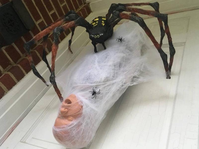 Halloween Spider Decoration Ideas for 2021
